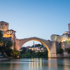The Famous Bridge in Mostar (Photos and Video)