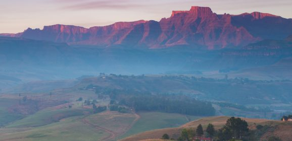 Location Scouting the Drakensberg Mountains