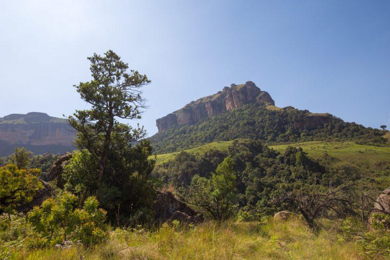 The Drakensberg Mountains