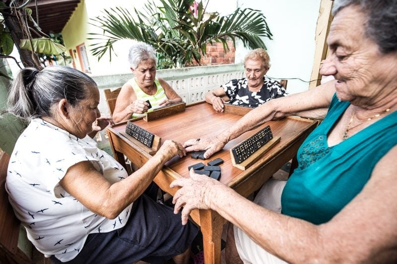 Dominoes in Cuba